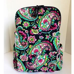 Vera Bradley Backpack In Petal Paisley
